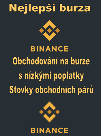 Binance - obchodujte kryptoměny